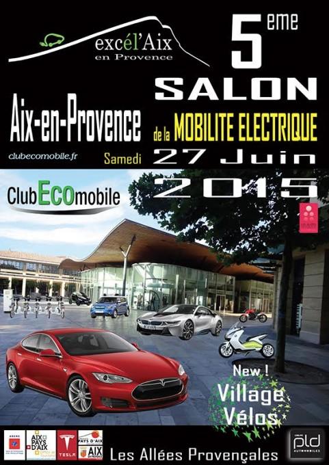 SALON MOBILITE ELECTRIQUE 2015   AIX EN PROVENCE