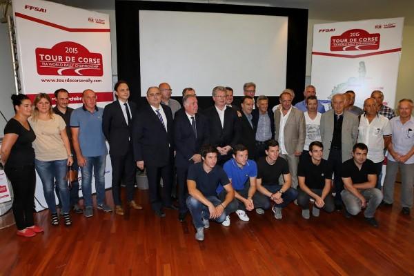 WRC 2015 Presentation du TOUR DE CORSE