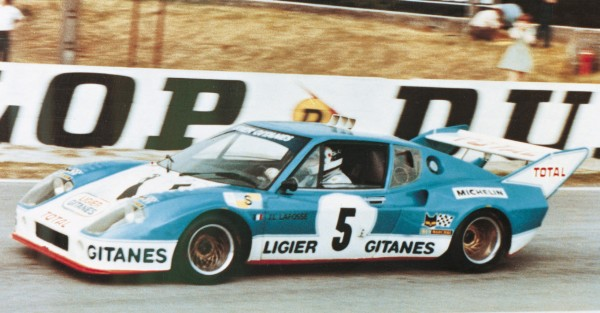 24 HEURES DU MANS 1975 Seconde place pour la LIGIER JS2 de Jean Louis LAFOSSE et Guy CHASSEUIL