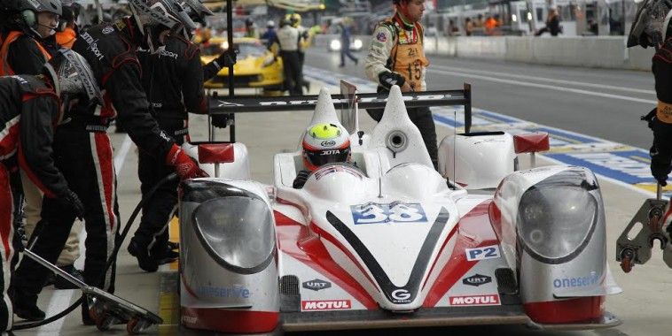24 HEURES DU MANS 2015 - GIBSON N°38 du JOTA SPORT Photo Thierry COULIBALY