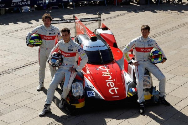 24 HEURES DU MANS 2015 PESAGE 7 juin -Equipe THIRIET ORECA 05 Photo Thierry COULIBALY