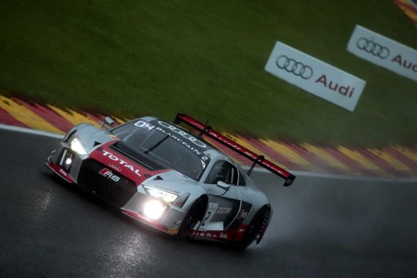 243 HEURES DE SPA 2015 -AUDI N°2 du Team AUDI BELGIAN WRT -Photo Georges DECOSTER