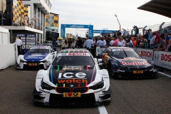 DTM 2015 ZANDBVOORT les BMW termient aux trois 1éres places samedi 11 juillet