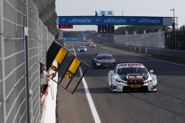 DTM 2015 ZANDVOORT La BMW de MARCO WITTMAN LE vainqueur samedi 11 juillet.