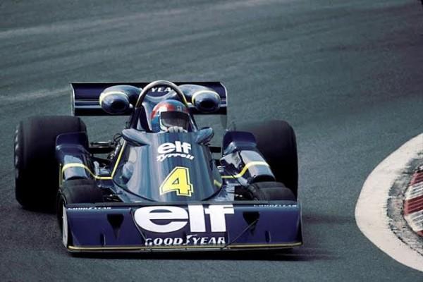 1 1976 3 Premiers essais qualificatifs Tyrrell P34-2 essais JARAMA Patrick DEPAILLER.