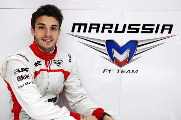 F1 2013 JULES BIANCHI  - pilote MARUSSIA