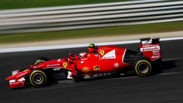 F1 2015 BUDAPEST FERRARI de VETTEL.