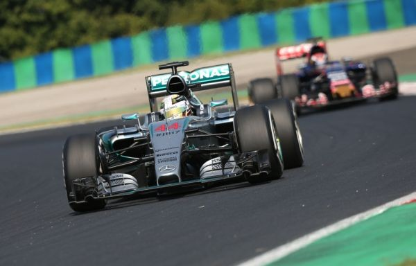 F1 2015 BUDAPEST  LEWIS HAMILTON ET SA MERCEDES