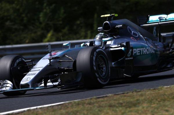 F1 2015 BUDAPEST  NICO ROSBERG MERCEDES