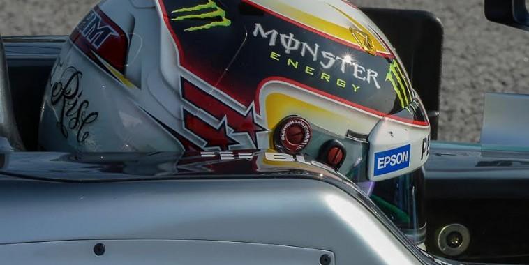 F1 2015  HAMILTON casque