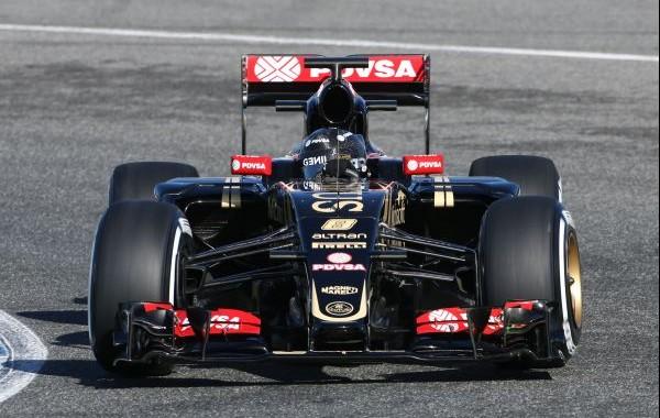 Romain Grosjean (FRA) Lotus F1 E23. Formula One Testing, Day Four, Wednesday 4th February 2015. Jerez, Spain.