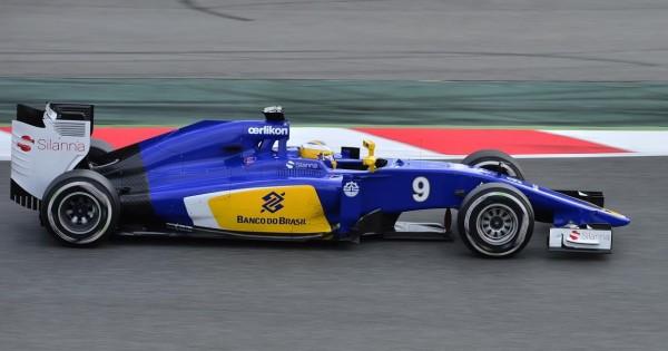 F1 2015 - Circuuit de CATALUNYA à MONTMELO  - ERICCSON SAUBER - Photo Max MALKA