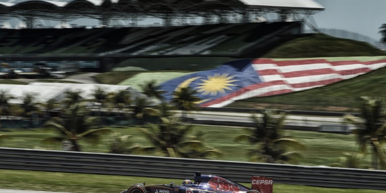 VERSTAPPEN max (ned) toro rosso str10 renault action during 2015 Formula 1 FIA world championship, Malaysia Grand Prix, at Sepang from March 27th to 30th. Photo Eric Vargiolu / DPPI