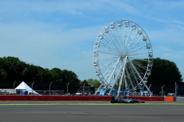 F1 2015 SILVERSTONE MERCEDES DE NICO ROSBERG