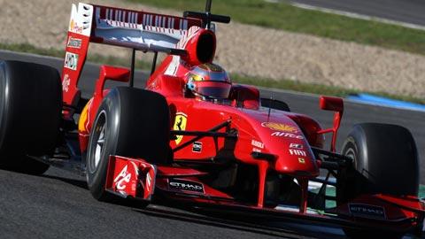 F1 Test Jerez FERRARI Bianchi.
