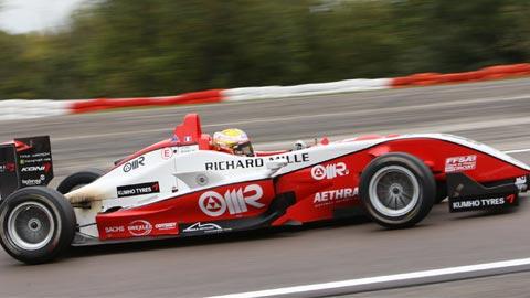 F3-Dijon- Jules Bianchi sacré CHAMPION d'Europe