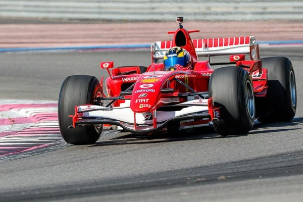 FERRARI-DAYS-2015-PAUL-RICARD-B-DE-ROTHSCHILD-F1-Schumacher-2006-Photo-Alain-RAGU.