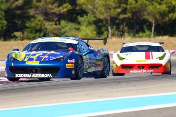 FERRARI-DAYS-2015-PAUL-RICARD-Babalus-le-pole-man-devant-Grossmann-Ferrari-Challenge-Trofeo-Pirelli-Photo-Jean-Francois-THIRY