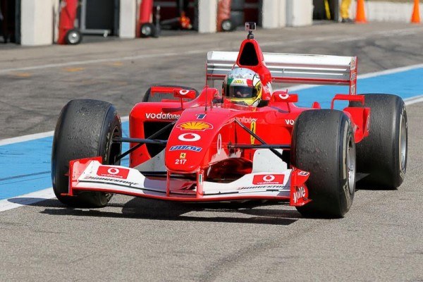 FERRARI-DAYS-2015-PAUL-RICARD-CIACIULLI-F1 de Michael Schumacher-de-2002-Photo-Alain-RAGU.