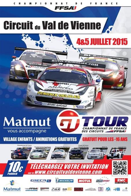 GT TOUR 2015 VAL DE VIENNE  Affiche