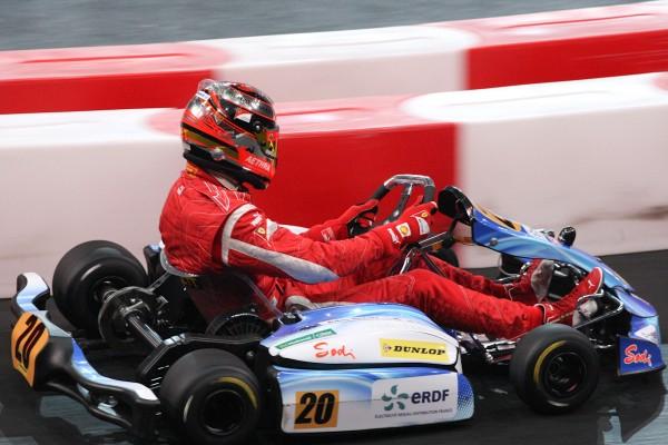 KARTING à BERCY -Décembre 2011 - Jules  Bianchi.