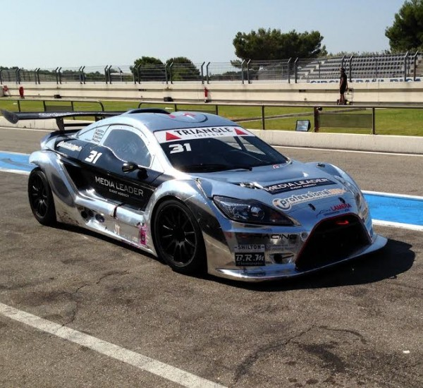 LAMERA CUP 2015 - PAUL RICARD  18 Juillet - La voiture du Team H Racing de  JEAN CHARLES HUILLIER  Photo autonewsinfo