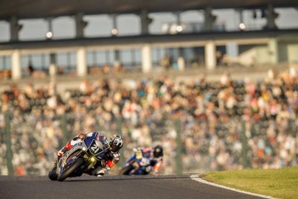 MOTO 2015 8 HEURES DE SUZUKA LA YAMAHA FACTORY victorieuse
