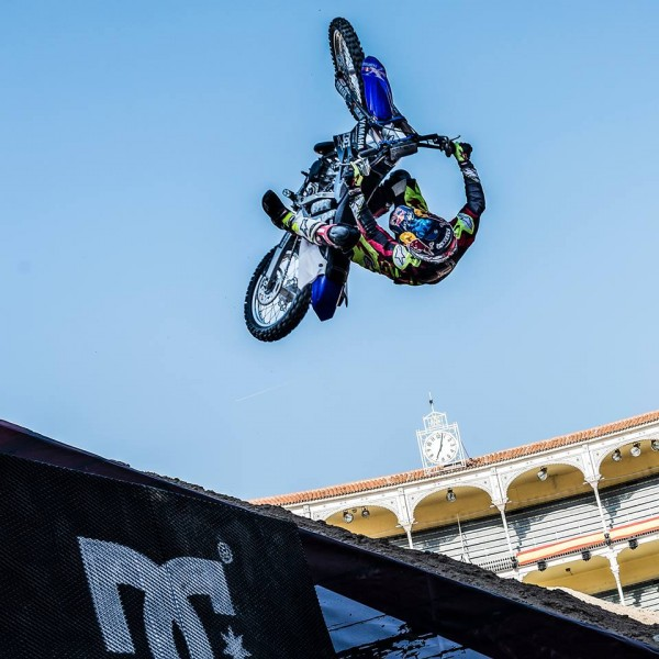 MOTO RED BULL X FIGHTERS 2015 MADRID - 1. TOM PAGES