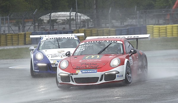 PORSCHE-CARRERA-CUP-2015-LE-MANS-NICOLAS-MARROC-et-VINCENT-BELTOISE-Photo-Thierry-COULIBALY