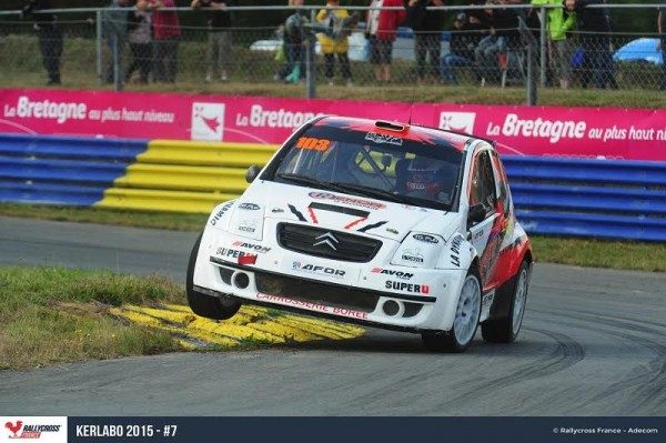 RALLYCROSS-2015-KERLABO-Laurent-CHARTRAIN-victorieux-en-SUPER-1600