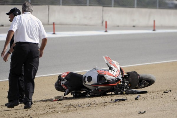 SUPERSPORT-US-2015-LAGUNA-SECA-Apres-l-accident-le-dimanche-19-juillet