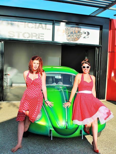 Super VW Fest 2015 Colline et Severine deux fans des COX - Emmanuel LEROUX