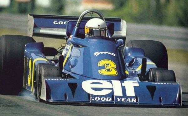 TYRELL P34 - JODY SCHECKTER au GP de BELGIQUE 1976 a SPA
