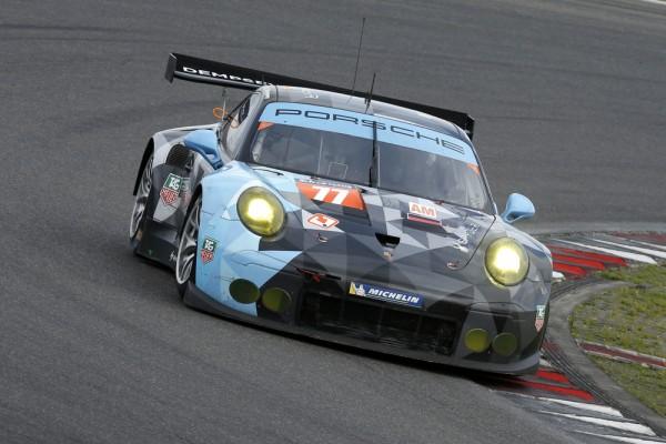 WEC-2015-NURBURGRING-Porsche-911-RSR-N°77-Dempsey-Racing-Proton-Marco-Seefried-et-Patrick-Dempsey
