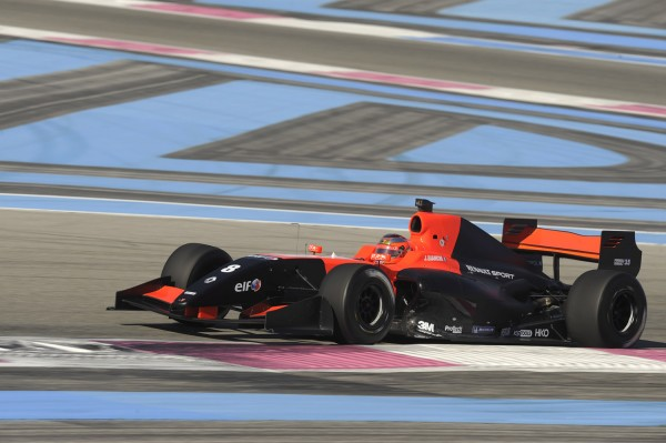 WORLD-SERIES-2012-FR35-Jules Bianchi-14-Mars-test au PaulRicard - Photo WSR  DPPI