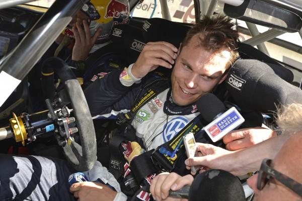 WRC 2015 POLOGNE VW POLO WRC - Andreas MIKKELSEN