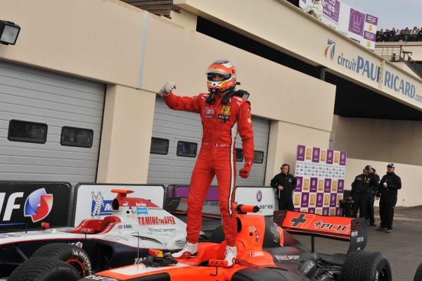 WSR 2012 -Jules BIANCHI vainqueur course 2
