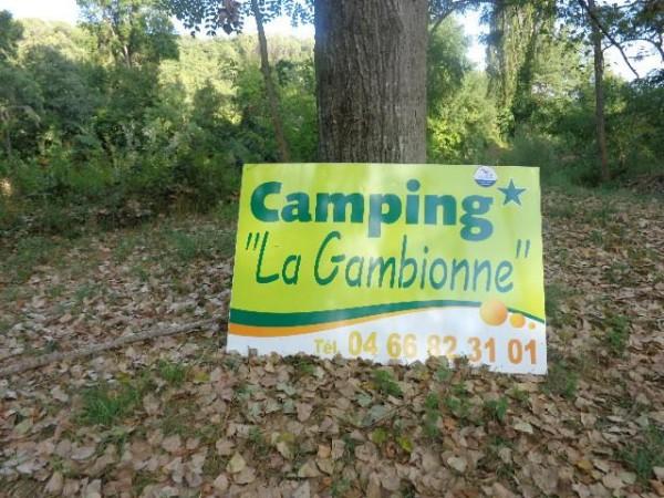 CAMPING RETRO LA GAMBIONNE a GOUDARGUES dans le GARD