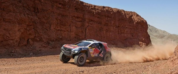 CHINA SILK ROAD RALLY 2015- PEUGEOT 2008 DKR de CYRIL DESPREZ.
