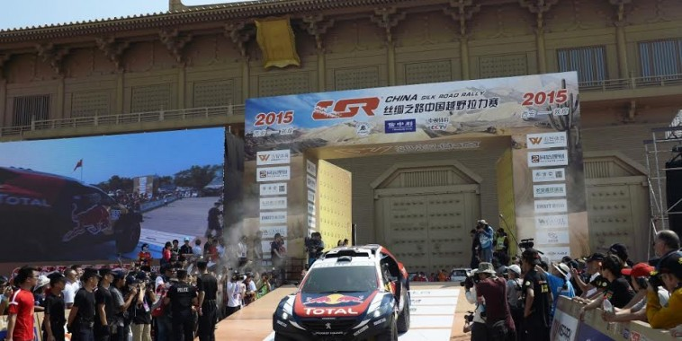 CHINA 2015 -Podium depart ce amedi 29 Aout
