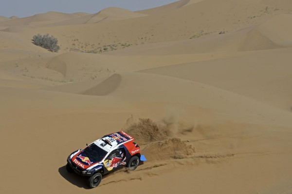 CHINA SILK ROAD RALLY - Le PEUGEOT 2008 DKR de CYRIL DESPREZ