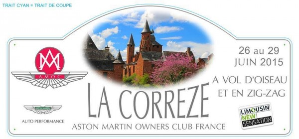 CORREZE-ASTON-MARTIN-OWNERS-CLUB-Plaque-rallye.