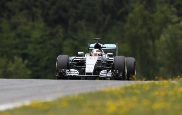 F1 2015  RED BULL RING  MERCEDES de LEWIS HAMILTON