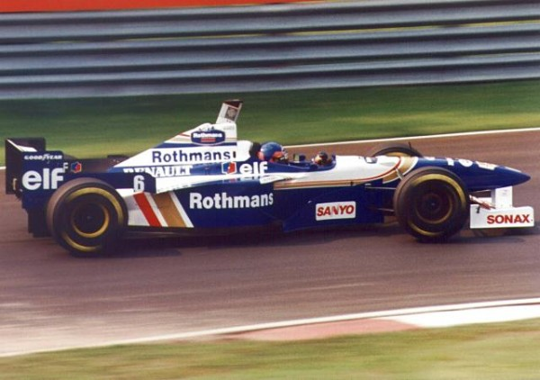 F1 WILLIAMS RENAULT JACQUES VILLENEUVE 1997