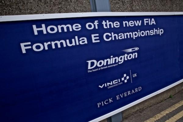 FORMULE E 2014 - Quartier général dans la Technopark du circuit de DONINGTON