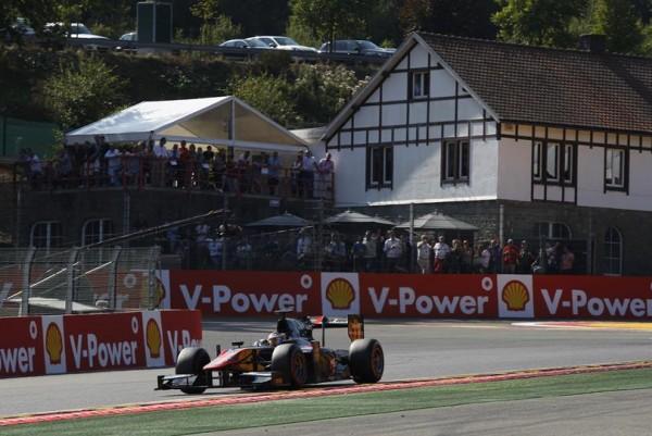 GP2 2015 SPA - Victoire de STOFFEL VANDOORNE dans la 1ére course samedi 22 aout