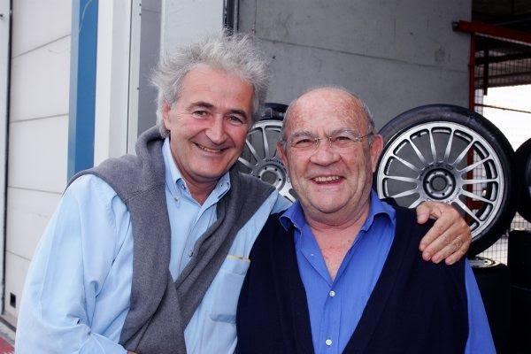 GUY-LIGIER-avec-Hugues-de-CHAUNAC-en-1985-à-MAGNY-COURS-Photo-Bernard-BAKALIAN
