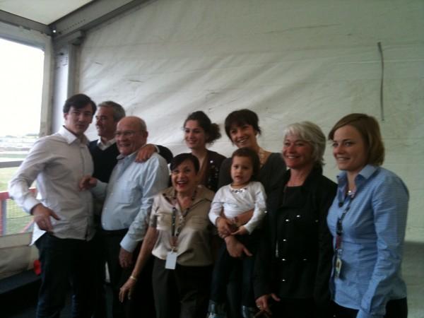 GUY LIGIER hommage au Classic days 2011 avec sa famille