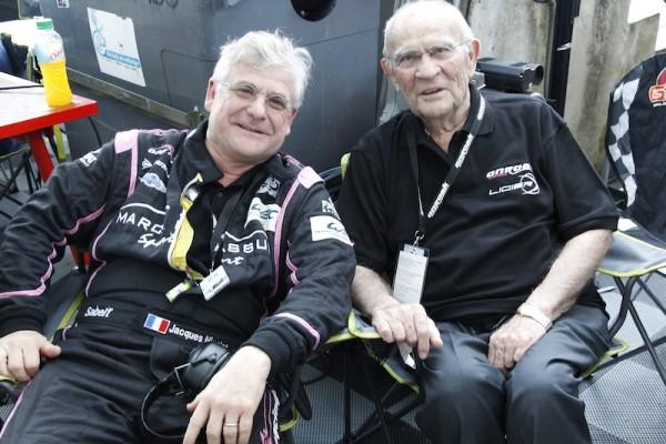 Guy-LIGIER-et-Jacques-NICOLET aux 24 Heures du Mans en juin 2014 Photo Thierry COULIBALY