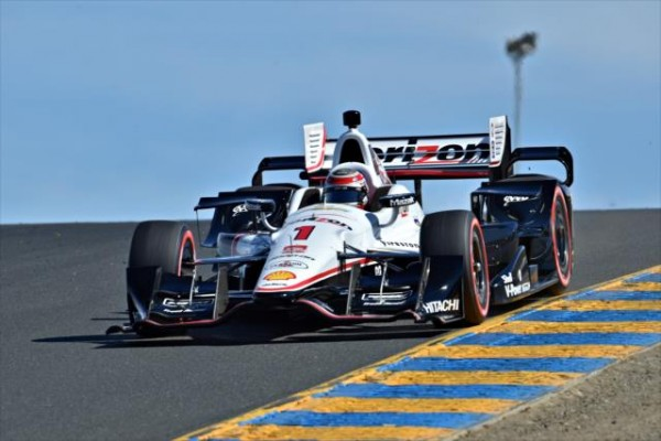 INDYCAR 2015 SONOMA 29 AOUT- WILL POWER Team PENSKE